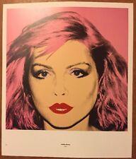 Debbie Harry, Blondie Andy Warhol 1987 Mini Poster Pop Art 29cmx24.5cm 190