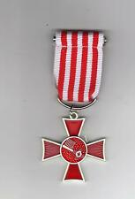 HANSEATIC CROSS  BREMEN FOR MERIT IN WAR GERMAN WW1 MEDAL REPLICA/COPY C/W PIN