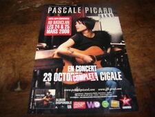 PASCALE PICARD - FLYER CONCERT OCTOBRE LA CIGALE !!!!!!