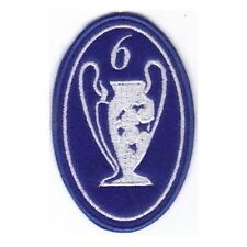 [Patch] CHAMPIONS LEAGUE numero 6 replica cm 5 x 7,5 toppa ricamata ricamo -205