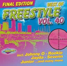 CD Best Of Freestyle Vol 40 von Various Artists 3CDs   incl. Johnny O und Apollo