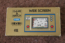 RARE NINTENDO GAME & WATCH FIRE FR-27 1981 BOXED EXCELLENT WORKING CONDITION