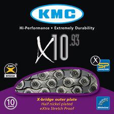 CATENA KMC X10.93 10 VELOCITA SHIMANO SRAM CAMPAGNOLO COMPATIBILE