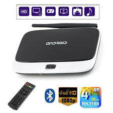 CS918 Quad Core Android 4.4 Smart TV Box WiFi 1080P Media Player 2G 8G  USA B2