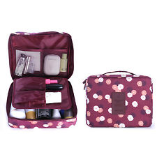 Travel Cosmetic Makeup Toiletry Case Bag Wash Organizer Storage Pouch Handbag