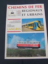Chemins de fer régionaux et urbains 241 1994 chemin fer crémaillère de LANGRES