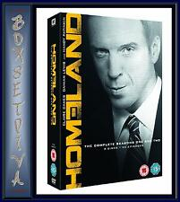 HOMELAND - THE COMPLETE SEASONS 1 &  2  **BRAND NEW DVD BOXSET **