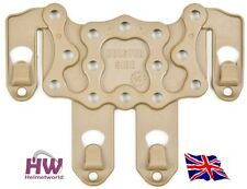 AIRSOFT CQC SERPA PISTOL MOLLE PLATFORM FOR HARD HOLSTER TAN SAND DE UK DELIVERY