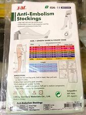 Anti-Embolism Stockings (Knee High) 18mmHg (PROMO 2PAIRS@1350)