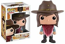 New Funko Pop Vinyl Walking Dead Carl Grimes Bobble Head Figure Hot Tv Toys 388