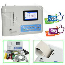 ECG EKG Machine electrocardiograph ECG300G 3 Channel 12 Leads Free Printer+SW