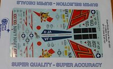 Microscale Decal 1:48 Scale #48-1061 / F-14B/D Tomcats: VF-101 & VF-11