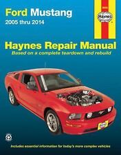 2005-2014 Ford Mustang Haynes Repair Service Workshop Manual 2013 2012 2011 1871