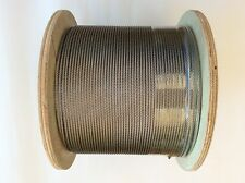 305m Marine Stainless Steel G316 3.2mm Wire Balustrade Cable Rope 7 x 7 Decking