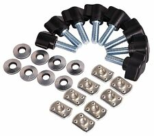 Universal Jeep Wrangler Easy On Off Hard Top Fasteners Nuts Screws for YJ TJ JK