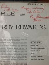 M70 Lp Signed Autograph Stay Awhile Roy Edwards