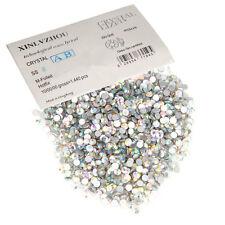 1440pcs Crystal AB Rhinestones Flat Bottomed Nail Art DIY Bead Decoration