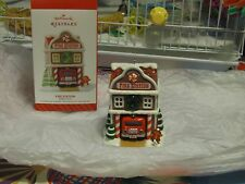 Hallmark Keepsake Ornament- 2014 Fire Station 9th in the Noelville series
