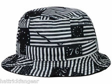 ORIGINAL CHUCK OLD GLORY BUCKET STYLE HAT/CAP - OSFM
