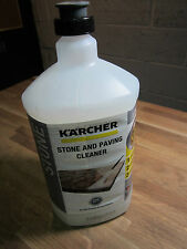 Genuine Karcher Stone and Paving Cleaner 1L Bottle 6.295-764.0