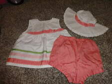 NWOT NEW GYMBOREE 18-24 GORGEOUS TOP BLOOMERS AND HAT 12-24 TULIP GARDEN