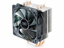 DEEPCOOL GAMMAXX 400  Tower Type W/4 HEAT PIPE W/ Blue LED Fan 120MM CPU Cooler
