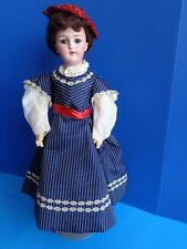 "ANTIQUE 18"" SIMON & HALBIG #1159 LADY DOLL- MARKED BODY"