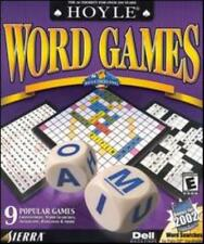 Hoyle Word Games 2001 PC CD anagrams crosswords word search! DoubleCross Wordox