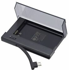 NEW Genuine Blackberry Q10 (NX1) Battery Charger - Black