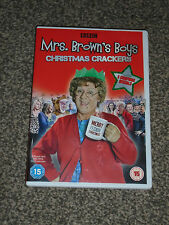 MRS BROWN'S BOYS : CHRISTMAS CRACKERS - DVD IN VGC (FREE UK P&P)