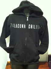LACUNA COIL Karmacode Zip-Up Hoodie NEW OFFICIAL MERCHANDISE Sizes Medium Rare