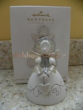 Hallmark 2012 Christmas Angel Porcelain Bell Club Member Exclusive Ornament
