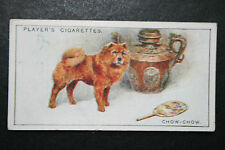 Chow-Chow   Edible Dog    Vintage Illustrated Card # VGC