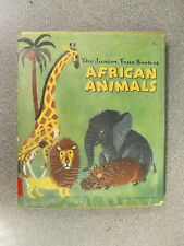 THE JUNIOR TRUE BOOK OF AFRICAN ANIMALS by JOHN WALLACE PURCELL H/B D/W  1962