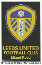 LEEDS UNITED FC LOGO Original Starline Poster MINI Promo Piece 3x5