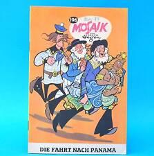 Mosaik 196 Fehldruck | Digedags Hannes Hegen Originalheft | DDR | Sammlung RR 1