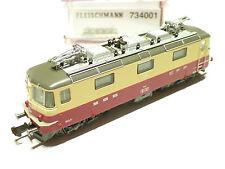(G201) Fleischmann SBB Re 4/4 beige/rot 734001 OVP