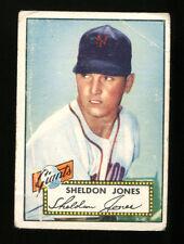 Sheldon Jones 1952 Topps #130 Red Back Giants VG+ 18995