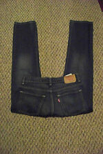 mens juniors levis 511 skinny faded dark wash denim jeans 26 x 27
