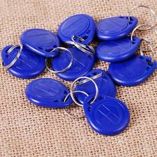 10 pcs RFID IC Key Card Tags Keyfobs Token NFC TAG Keychain 125KHZ TK4100