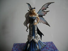 STUNNING FAIRY SITE FAERIE WINTER QUEEN  BY AMY BROWN NEW &  BOXED