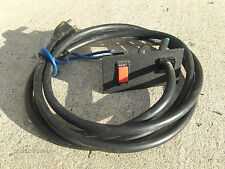 Nordic Track Treadmill C2420 Power Cable Cord + OFF/Reset Switch Circuit Breaker