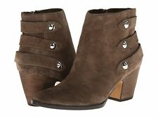 New Ivanka Trump Talley suede women's ankle boots sz 9.5 ( MSR $189 ))