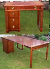 Antique Extending Desk, Saginaw, Mahogany, All Original, Watertown Table Slide