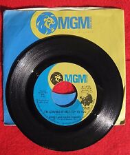 Donny & Marie Osmond, I'm Leaving It All Up To You /The Umbrella Song, MGM 14735