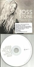 JOSS STONE Fell In love with a Boy RARE Radio Vers Europe PROMO Single USA Seler