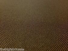 TOUGH WATERPROOF BROWN OUTDOOR CANVAS FABRIC MATERIAL AWNING COVER CORDURA TYPE!