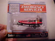 BOLEY EMERGENCY SERVICES FIRE DEPARTMENT RESCUE BOAT  NEW