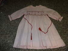 BOUTIQUE JACADI 18M/81 18 MONTHS PINK SMOCKED FLORAL DRESS