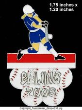 OLYMPIC PIN BEIJING 2008 SPORT OF SOFTBALL LE SILVER